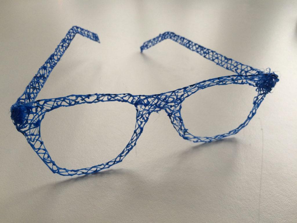 3D Stift Idee Brille