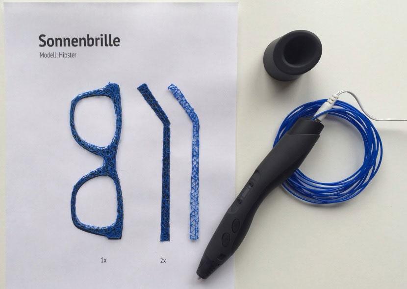 Sunlu 3D Stift Ideen Brille