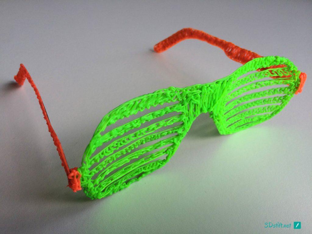 3Dooder 2.0 3D-Stift-Vorlage Sonnenbrille