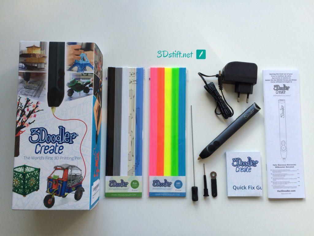 3Doodler Create Test 3D-Pen Lieferumfang